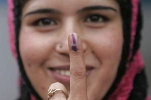 Attestazione di voto (foto Reuters)