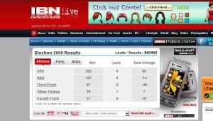 I risultati della televisione alla news IBNLive
